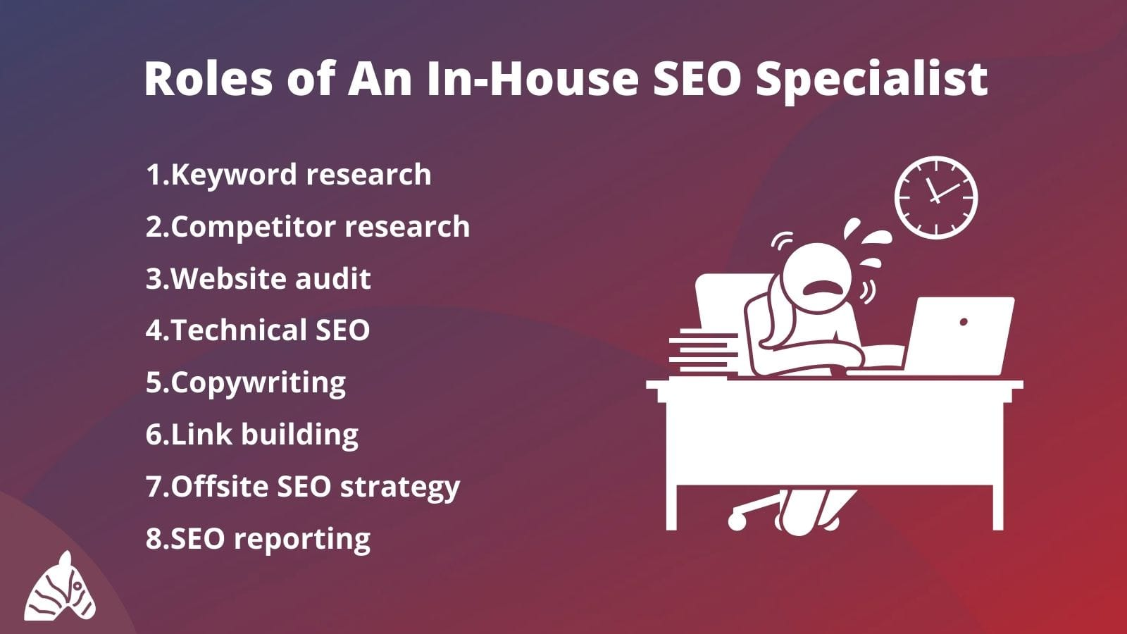 the many roles of an in-house SEO specialist